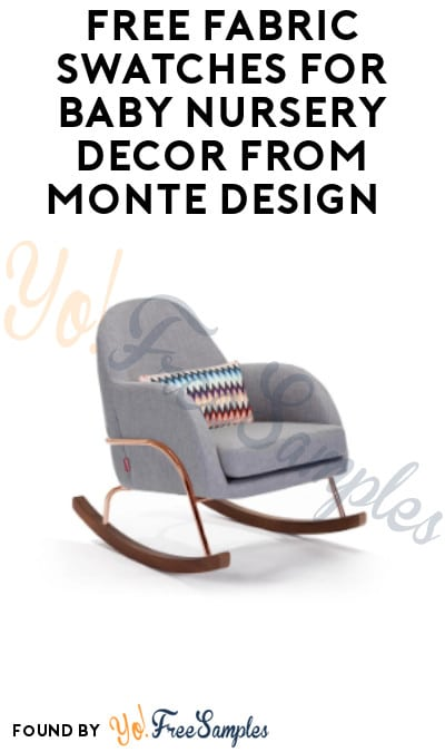 FREE Fabric Swatches for Baby Nursery Décor from Monte Design
