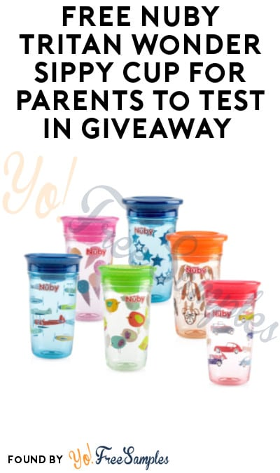 FREE Nuby Tritan Wonder Sippy Cup for Parents to Test in Giveaway