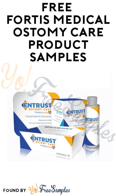 FREE Fortis Medical Ostomy Care Product Samples