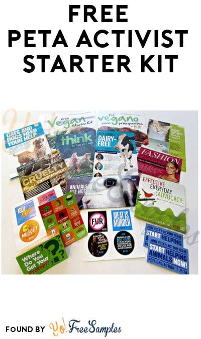 FREE PETA Activist Starter Kit