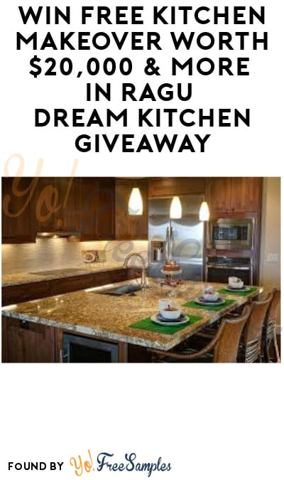 Enter Daily: Win FREE Kitchen Makeover Worth $20,000 & More ...