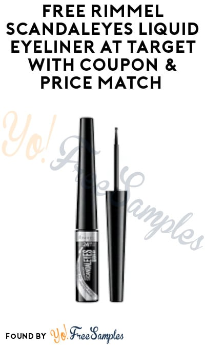 FREE Rimmel Scandaleyes Liquid Eyeliner at Target with Coupon & Price Match