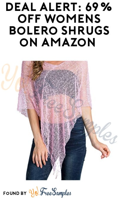 DEAL ALERT: 69% Off Women's Summer Sheer Bolero Shrugs on Amazon
