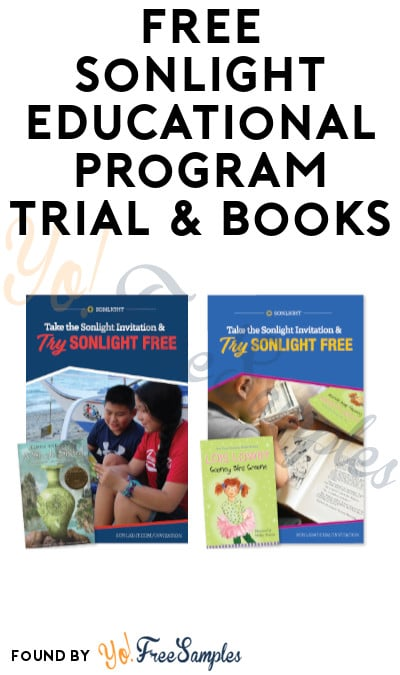 FREE Sonlight Educational Program Trial & Books