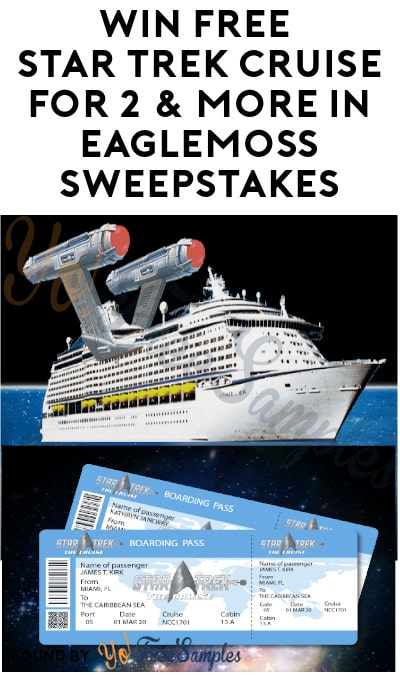 Win FREE Star Trek Cruise For Two & More in Eaglemoss Sweepstakes (Ages 21 & Older)