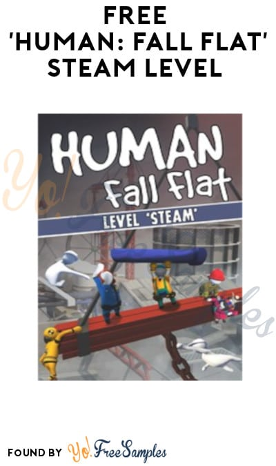 FREE 'Human: Fall Flat' Steam Level (Xbox One/PS4 Digital Download)