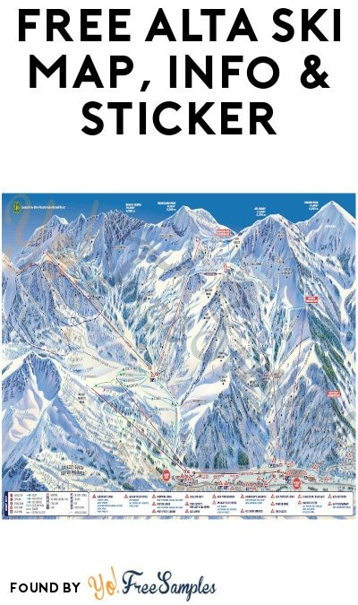 FREE Alta Ski Map, Info & Sticker
