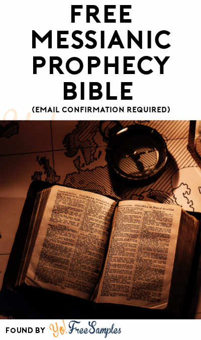 FREE Messianic Prophecy Bible (Email Confirmation Required)