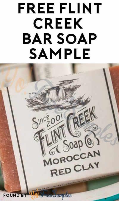 FREE Flint Creek Bar Soap Sample