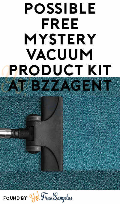 Possible FREE Vacuum Product Kit At BzzAgent