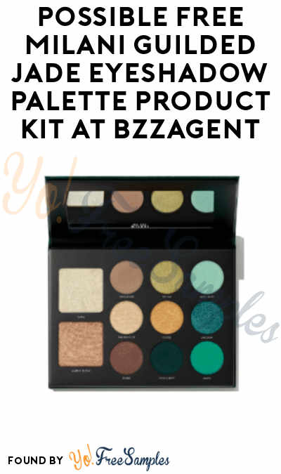 Possible FREE Milani Guilded Jade Eyeshadow Palette Product Kit At BzzAgent
