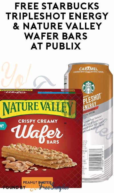 FREE Starbucks Tripleshot Energy & Nature Valley Wafer Bars at Publix (Account Required)