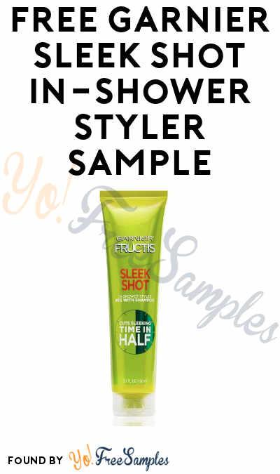 FREE Garnier Sleek Shot In-Shower Styler Sample