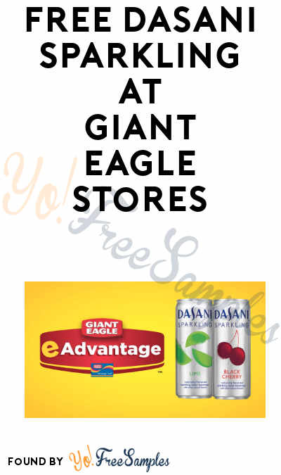 FREE Dasani Sparkling Water At Giant Eagle (eAdvantage Card Required)