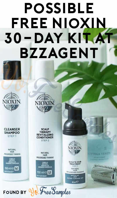 Possible FREE Nioxin 30-Day Kit At BzzAgent