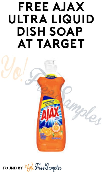 Possible FREE Ajax Ultra Liquid Dish Soap at Target (Checkout51 Required)