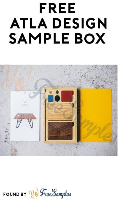 FREE Atla Design Sample Box