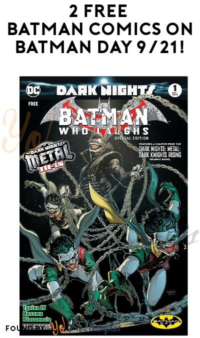 2 FREE Batman Comics on Batman Day 9/21!