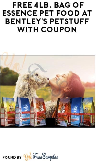 FREE 4lb. Bag of Essence Pet Food at Bentley's Petstuff with Coupon