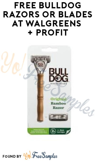 FREE Bulldog Razors or Blades at Walgreens + Profit (Account & Ibotta Required)