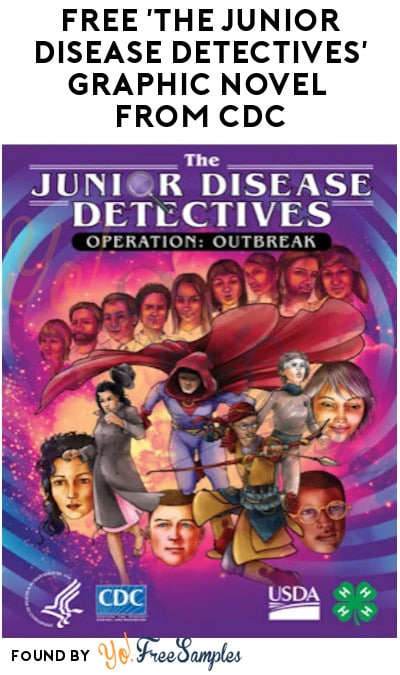 FREE 'The Junior Disease Detectives' Graphic Novel from CDC