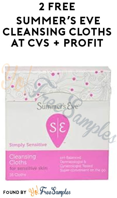photograph regarding Summers Eve Printable Coupons identify 2 Free of charge Summers Eve Cleaning Cloths at CVS + Income