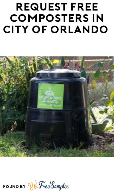 Request FREE Composters & More in City of Orlando