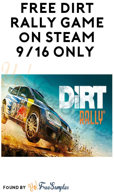 FREE DiRT Rally Game on Steam 9/16 Only (Get By 10 AM + Account Required)