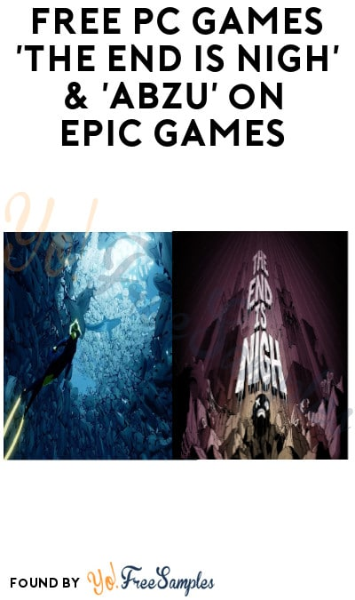 FREE PC Games 'The End is Nigh' & 'ABZU' on Epic Games (From 9/5 + Account Required)