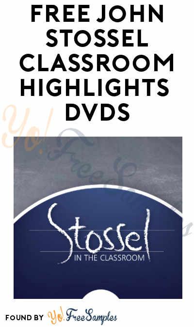 FREE John Stossel Classroom Highlights 2019 & 2020 DVD