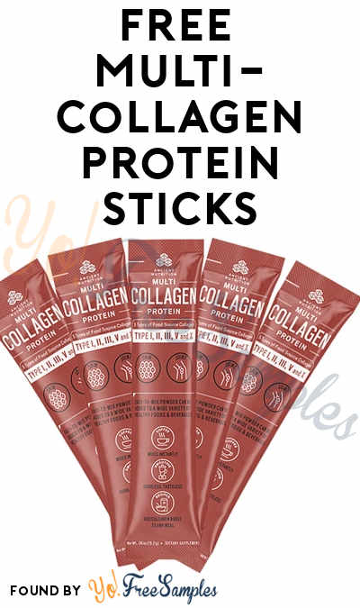 FREE Dr. Axe Multi Collagen Protein Sticks or Bars