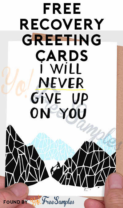 FREE Recovery Greeting Cards