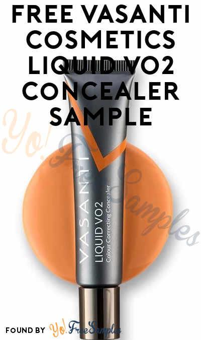 FREE Vasanti Cosmetics Liquid VO2 Concealer Sample