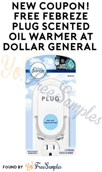 FREE Febreze Plug Scented Oil Warmer at Dollar General (Account Required)