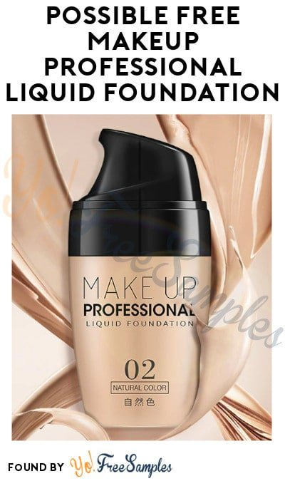 Possible FREE Makeup Professional Liquid Foundation