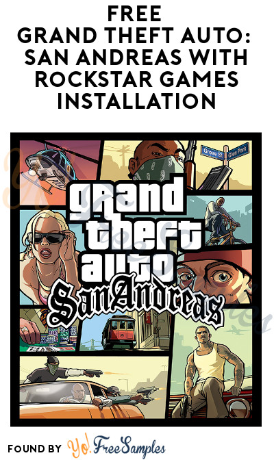 FREE Grand Theft Auto: San Andreas with Rockstar Games Installation
