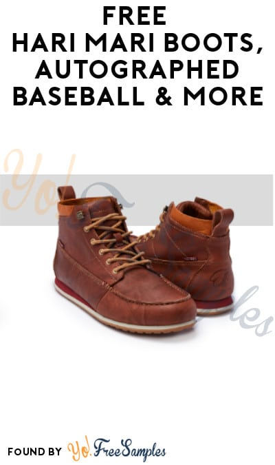 FREE Hari Mari Boots, Autographed Baseball & More (Referring Required)