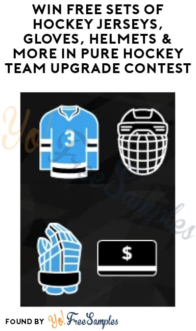 Win FREE Sets of Hockey Jerseys, Gloves, Helmets & More in Pure Hockey Team Upgrade Contest (Team Name Required)