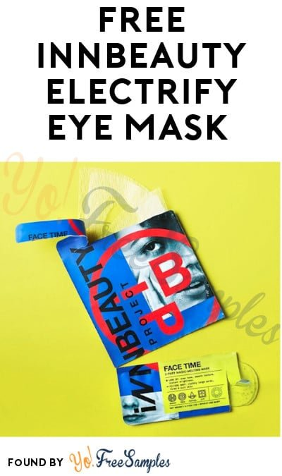 FREE INNBeauty Electrify Eye Mask