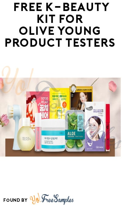 Free K Beauty Kit For Olive Young