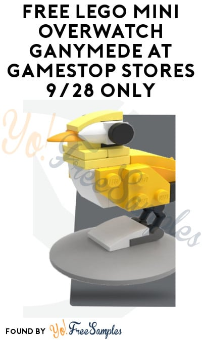 FREE LEGO Mini Overwatch Ganymede at GameStop Stores 9/28 Only
