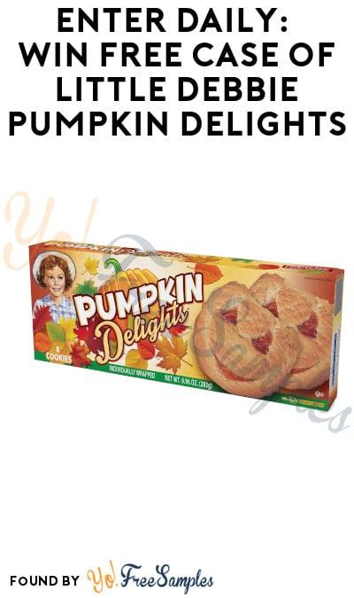 Enter Daily: Win FREE Case of Little Debbie Pumpkin Delights
