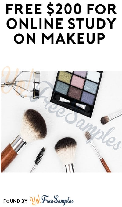 FREE $200 for Online Study on Makeup (Must Apply)