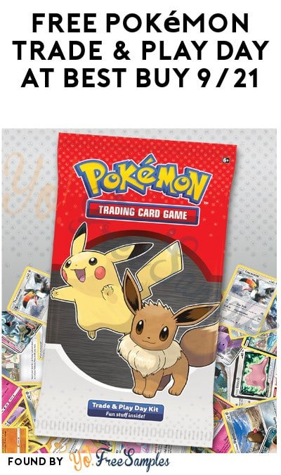 FREE Pokémon Trade & Play Day at Best Buy 9/21