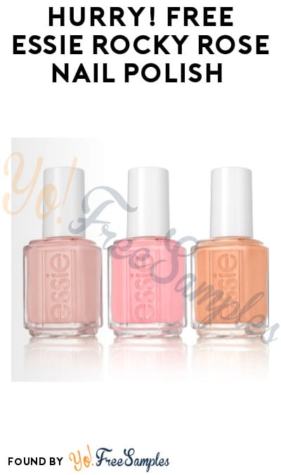 Hurry! FREE Essie Rocky Rose Nail Polish