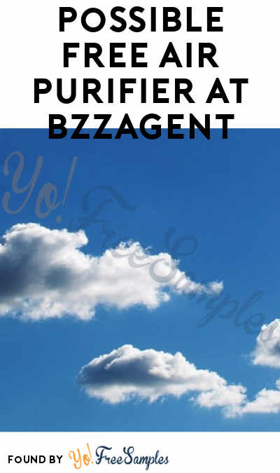Possible FREE Air Purifier At BzzAgent