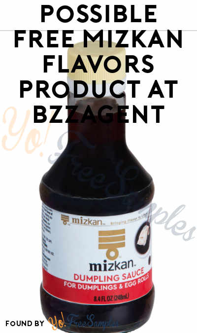 Possible FREE Mizkan Flavors Product At BzzAgent