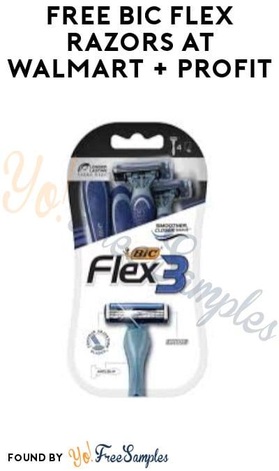 FREE Bic Flex Razors at Walmart + Profit (Ibotta & Coupon Required)