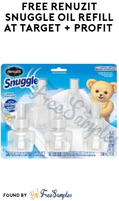 FREE Renuzit Snuggle Oil Refill at Target + Profit (Ibotta + Mail In Rebate Required)