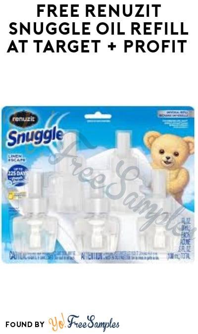 FREE Renuzit Snuggle Oil Refill at Target + Profit (Ibotta + Mail In Rebate Required)